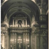 Retaule de l'Altar Major, cremat el 1936